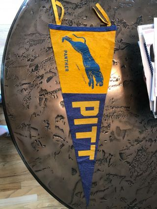 Wow Early 1900s Pitt Pittsbugh Vintage Rare Pennant