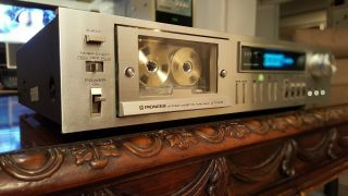 Vintage Pioneer Ct - F615 Cassette Deck And Running Well