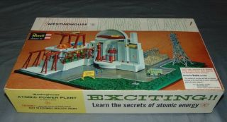 Rare Revell Level The Westinghouse Nuclear Power Station Atomic Plant 1550 - 695