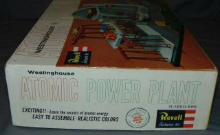 RARE Revell Level The Westinghouse Nuclear Power Station Atomic Plant 1550 - 695 2