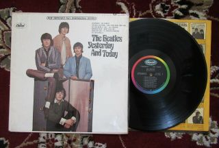 Beatles Vintage 1966 2nd State Stereo Paste Over Butcher Cover Cover In Sw