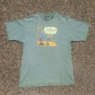 Rare Vintage Phish Summer 95 Shirt Xl