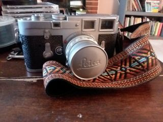 Vintage Leica M3 With Strap