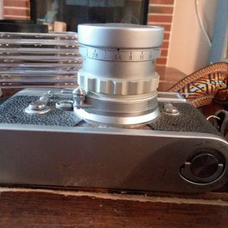 Vintage Leica M3 with strap 3