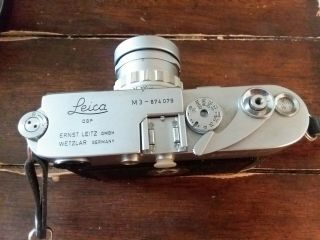 Vintage Leica M3 with strap 6