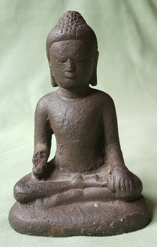 Large Early Bronze Figure Of Buddha,  17th Century