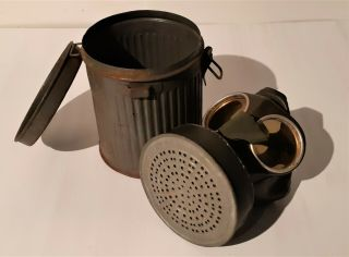 Ww2 German M40 Gas Mask & Canister