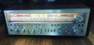 Vintage 1970s Pioneer Solid State Audiophile Receiver Sx - 1250 -