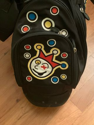Rare Scotty Cameron Black Jackpot Johnny Circle T Golf Stand Bag