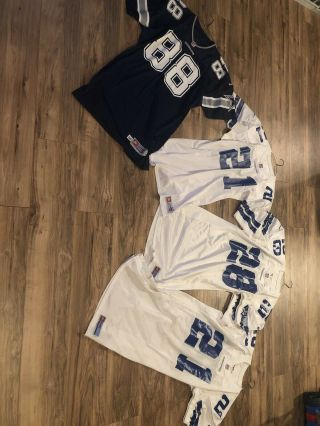 Vintage Dallas Cowboys Game Issued On Field Nfl Pro Line Nike Jerseys Bundle