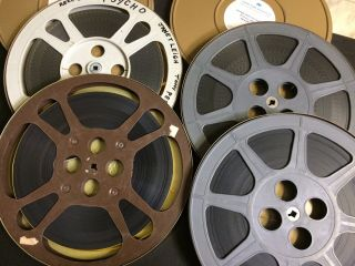 16mm PSYCHO Feature Movie Vintage 1960 Film Horror Thriller 2