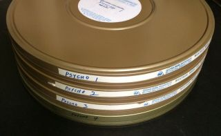 16mm PSYCHO Feature Movie Vintage 1960 Film Horror Thriller 3