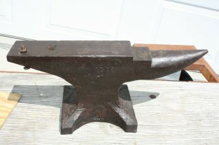 Antique Lakeside Blacksmith Anvil,  80 Pounds,