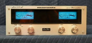 Vintage Marantz 510m Stereo Power Amplifier Solid State 256wpc Cond
