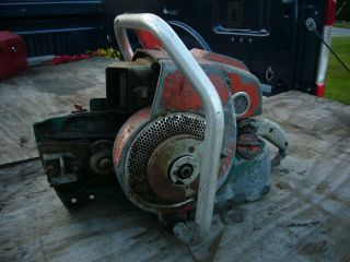 Homelite 900g Geardrive Vintage Chainsaw 112cc