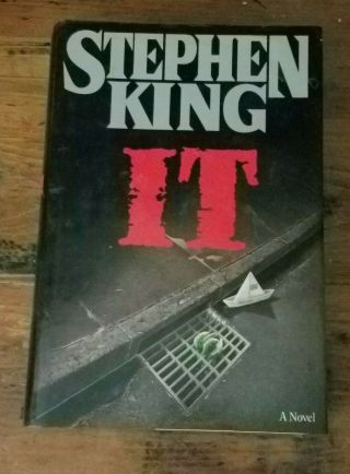 Stephen King It Signed 1st Printing Ist Edition Rare