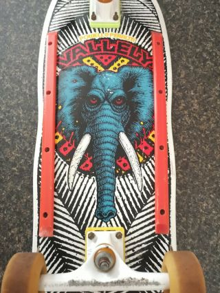 Vintage 1980s Powell Peralta Mike Vallely Skateboard Elephant Complete 3