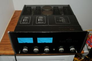 Mcintosh Mc2105 Stereo Power Amplifier Amp Vintage Electronics Solid State Power
