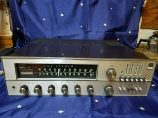 Vintage Fisher 500 - Tx Tune - O - Matic Am Fm Receiver Sounds Great