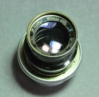 "Cooke Speed Panchro 50mm "" Blue O Series "" Vintage Cine Lens,  B & H Eyemo Mount"