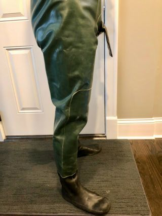 Rare Vintage Aquala Rubber Suit Drysuit XL 6