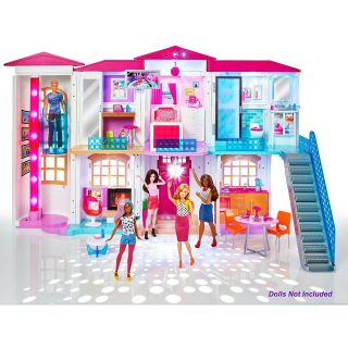 Barbie Hello Dreamhouse - Smart Doll House W/ Wifi & Voice Activation From Mattel