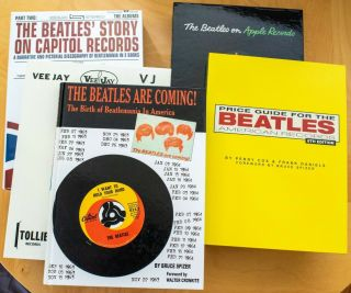 Beatles Books By Bruce Spizer 1st Ed