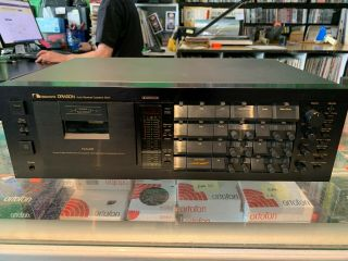 Nakamichi Dragon Cassette Deck - As - Is Auto - Reverse Hifi Analog Vintage