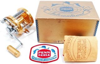 Penn International Six Rare Find In,  Perfect For Collectors