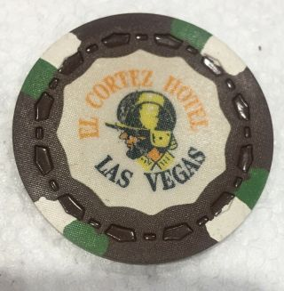 $25 Vintage 5th Edition Gaming Chip From El Cortez Hotel Las Vegas