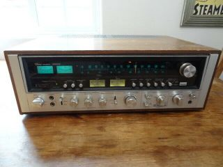 Vintage Sansui 9090db Silver Face Stereo Receiver - As - Is