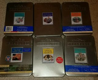 RARE SET 22 DISNEY TREASURES DVDs MOST TINS DONALD MICKEY PLUTO 9