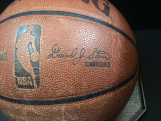 2010 NBA Finals Championship Rare Game Ball Signed By Kobe Bryant Lakers - Celtics 10