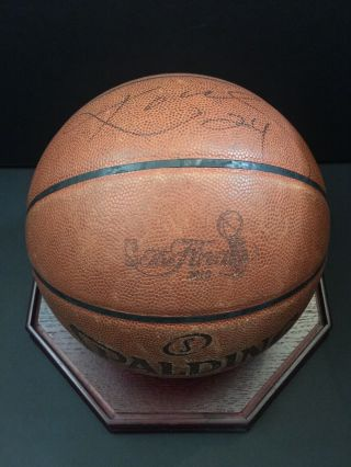2010 Nba Finals Championship Rare Game Ball Signed By Kobe Bryant Lakers - Celtics