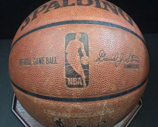2010 NBA Finals Championship Rare Game Ball Signed By Kobe Bryant Lakers - Celtics 4