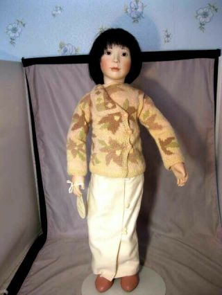 Rare Lynne And Michael Roche Doll May Rose 1999 Limited Ed 23/60