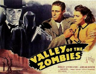 Movie 16mm Valley Of The Zombies Feature Vintage Drama 1946 Film Horror Sci - Fi