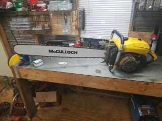Vintage Mcculloch Sp125c Chainsaw