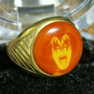 Kiss Vintage Gene Simmons Ring Aucoin 1978