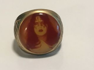 Vintage Kiss 1978 Ace Frehley Ring