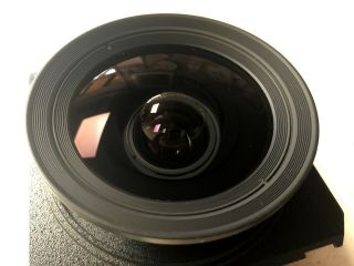 Schneider 72mm F5.  6 Angulon XL With (Rare) Centre Filter And Polariser 5