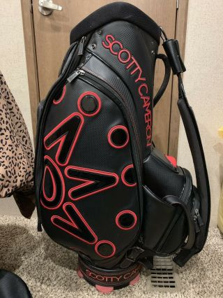Scotty Cameron Supercar Staff Bag Rare