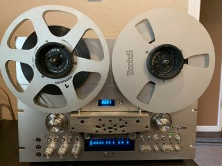 Vintage Pioneer Rt - 909 Reel To Reel Tape Player Recorder - And