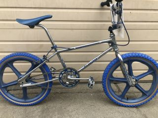 Vintage Thruster Vanishing Point Bmx Complete W/bars Speed Unlimited Old School