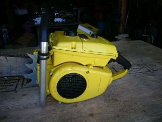 Mcculloch 797 Vintage Muscle Chainsaw 123cc