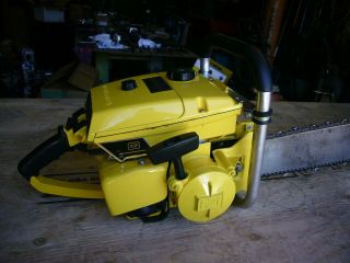 Mcculloch 797 vintage muscle chainsaw 123cc ' s 2