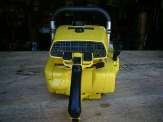Mcculloch 797 vintage muscle chainsaw 123cc ' s 4