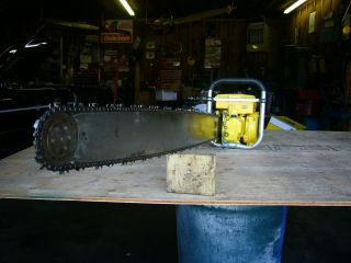 Mcculloch 797 vintage muscle chainsaw 123cc ' s 7