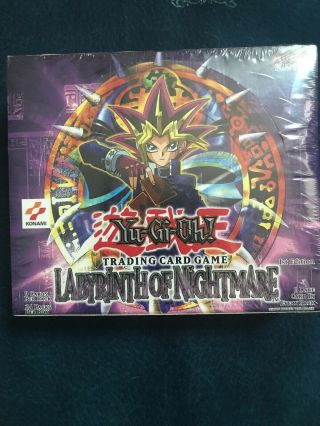 Labryinth Of Nightmare 1st Edition Booster Box Extremely Rare