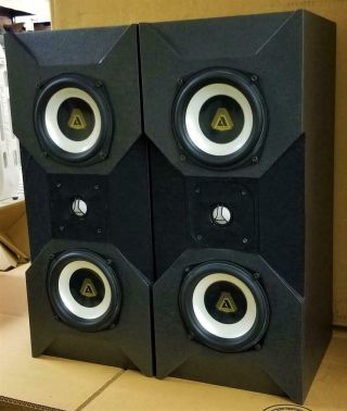 Rare Avalon Acoustics Monitor Speakers Msrp $3295